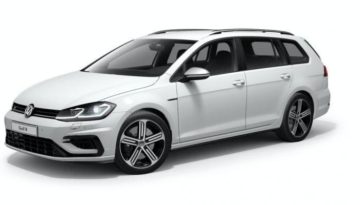 VW Golf R Variant 4MOTION 2,0 l TSI OPF 4MOTION DSG vorne