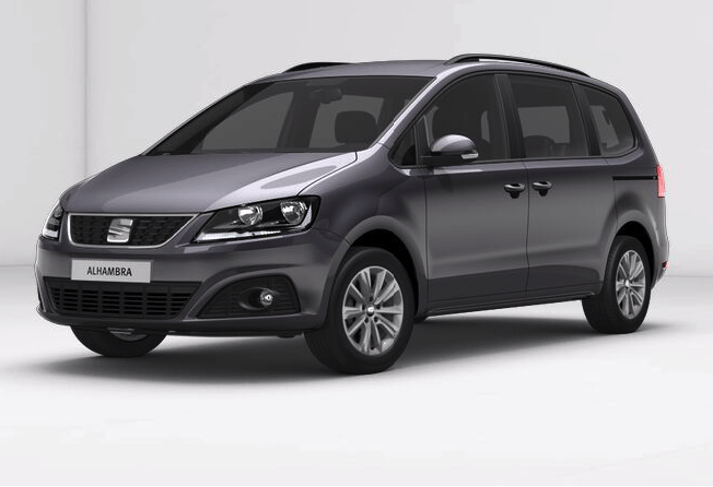 seat alhambra style 1 4 tsi leasing und langzeitmiete. Black Bedroom Furniture Sets. Home Design Ideas